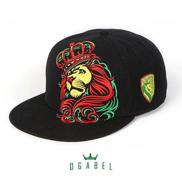 OGABEL.COM - Crown Rasta Snapback Hat, $25.95 (http://www.shopogabel.com/crown-rasta-snapback-hat/)