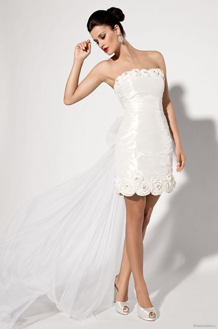 krótkie suknie ślubne 02