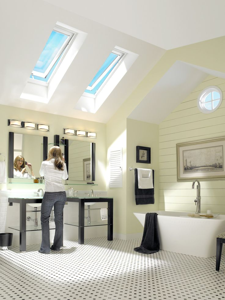 Venting Skylights Provide Privacy In Bathrooms As They Passively Exhaust  Heat, Humidity And Condensation And Admit Healthful Natural Light And Fresh  Air