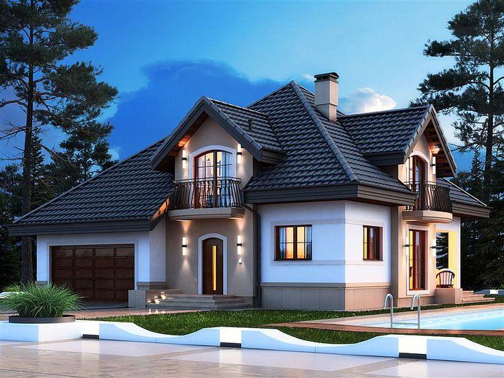 Casă de vis în stil clasic cu suprafață de 182 mp, cu piscină, garaj si mansardă Fiecare dintre noi ne-am dorit, măcar o dată în viață să locuim într-o