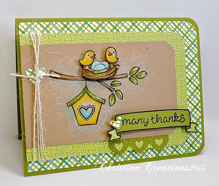 Lawn Fawn - Home Sweet Home, Pink Lemonade papers _ ChristineCreations: Lawn Fawn Blog Hop!