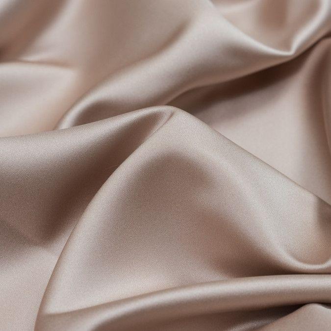 British Rose Polyester Satin