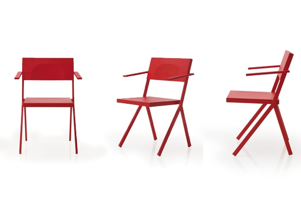 MIA by Jean Nouvell for EMU - foldable, stackable chairs in assorted colours - available at KE-ZU.