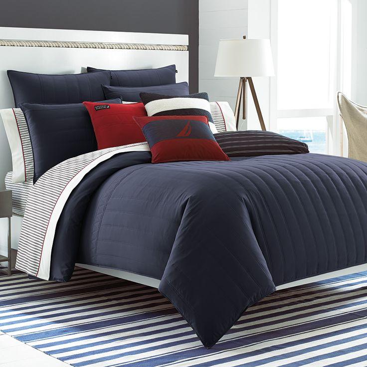 Nautica Mainsail Navy Comforter Set #backtoschool #dorm #college