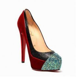 Christian Louboutin Pices Pumps Calypso Pump Red
