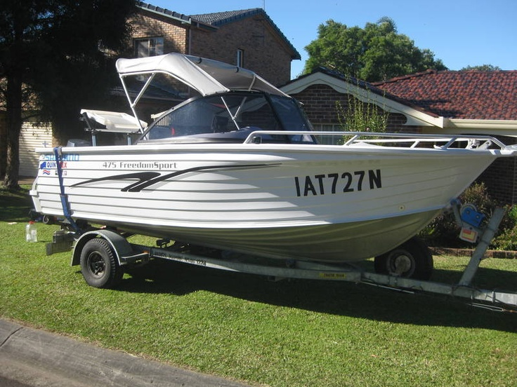 Quintrex 475 Freedom sport Wollongong 2500 Wollongong Area image 1