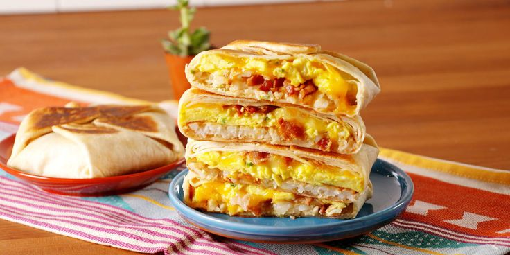 Breakfast crunchwrap supreme recipe.  Treat yourself to Taco Bell in the comfort of your own home!