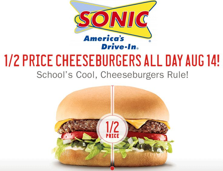 Pinned August 13th 50 off cheeseburgers Thursday at