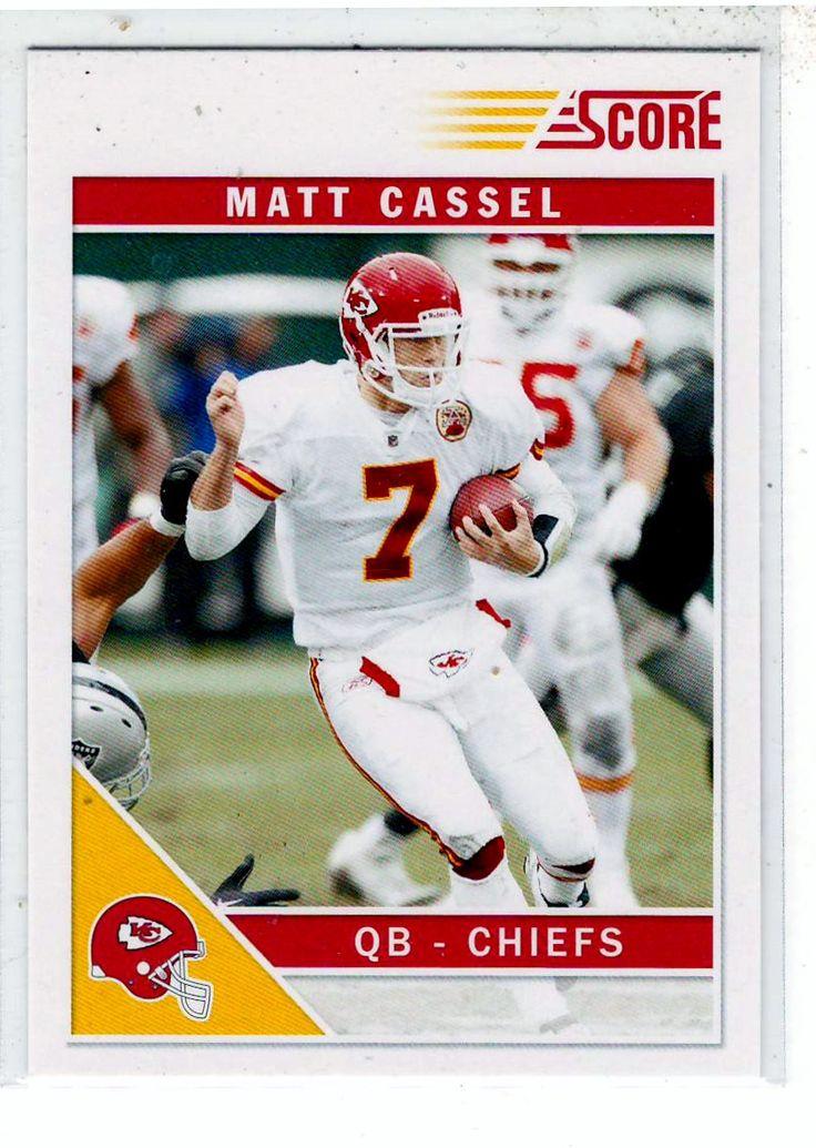 Sports Cards Football - 2010 Score Matt Cassel