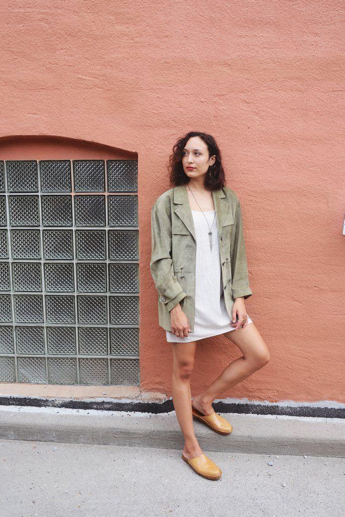 Opia Slip Linen Dress