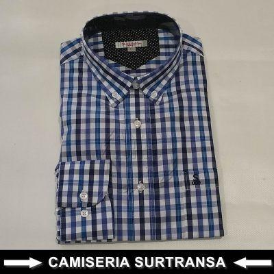 Camisas Cuadros Sutransa 575
