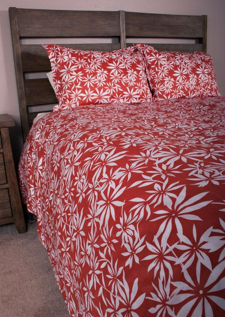 enjoy comfort and style with bedding in superior count easy care cotton shams and duvet cover are completely reversible