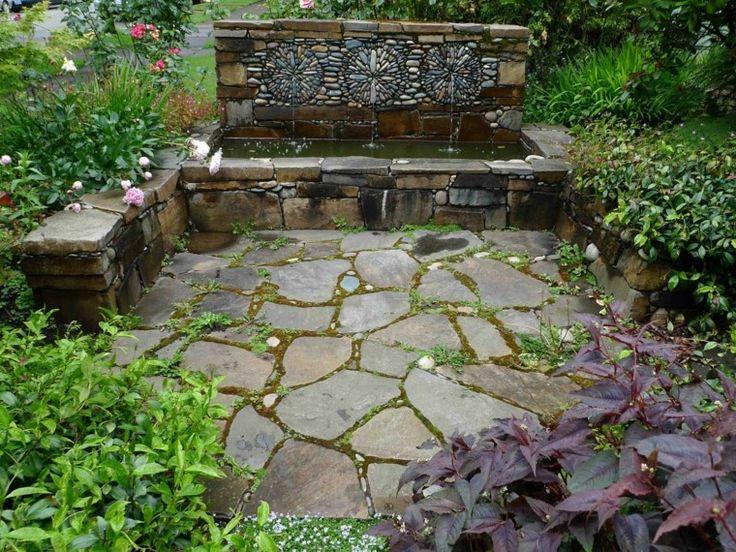 ms de ideas increbles sobre fuente de piedra en pinterest fuentes de jardn fuentes de agua de jardn y del agua al aire libre