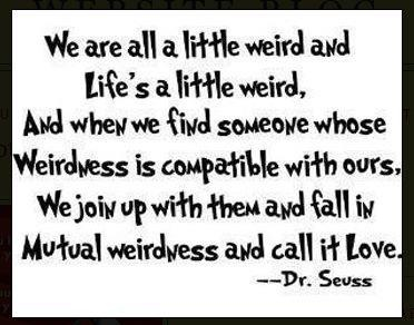 Love is weird, isn't it?