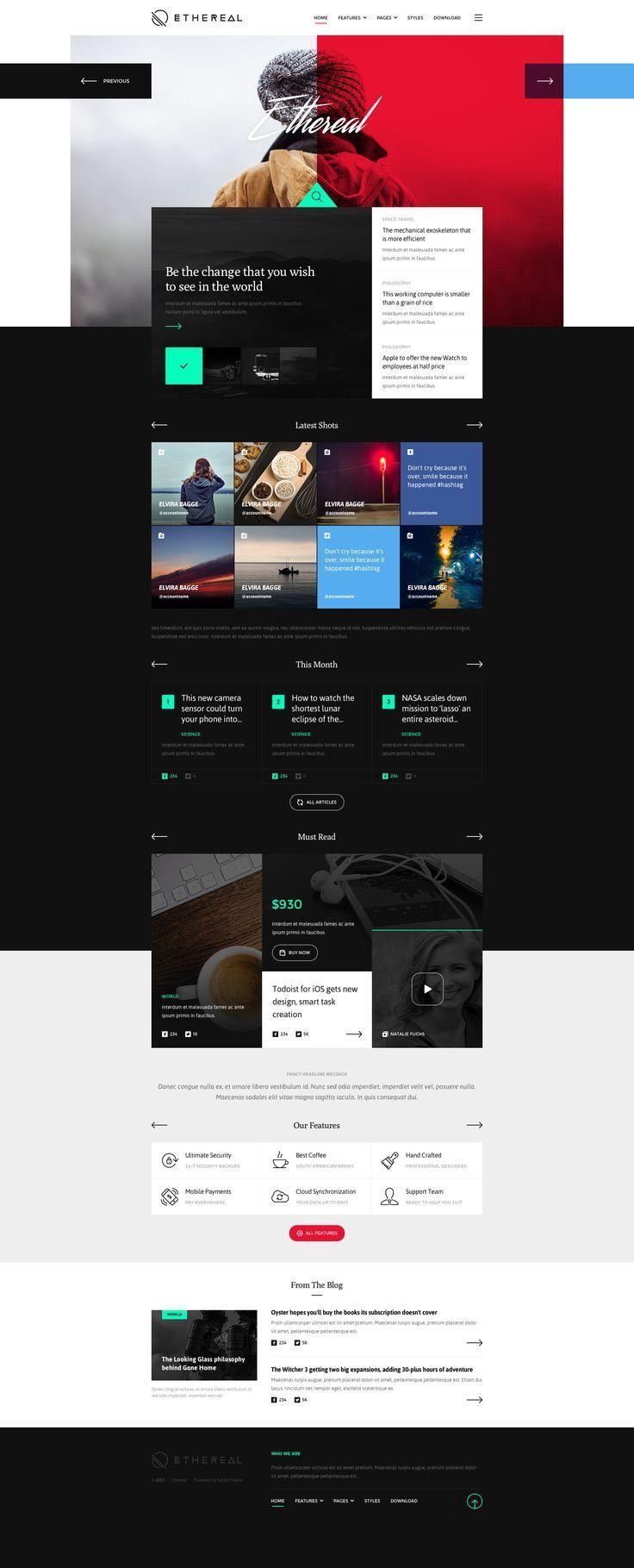 Web Design Inspiration Modern Web Design Web Design Tips Web Design Inspiration