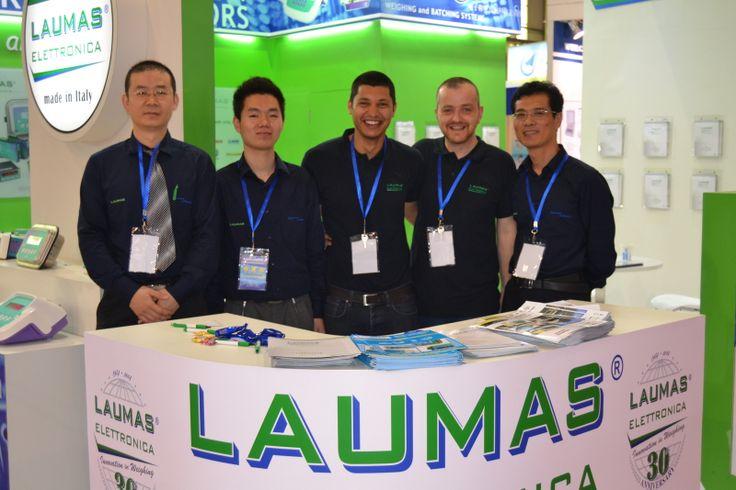 Laumas at Interweighing 2014  Dongguan (China)
