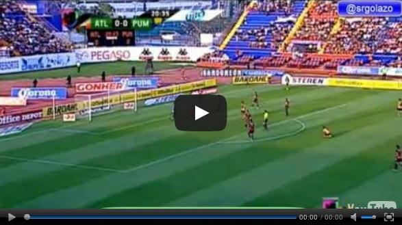 Vídeo del resumen y goles entre Atlante vs Pumas partido de la última jornada de la Liga MX Clausura 2013. Marcador Final: Atlante 1-2 Pumas.