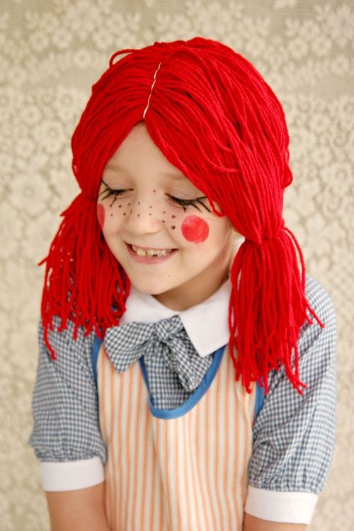 Rag Doll Costume (includes instructions for the wig).