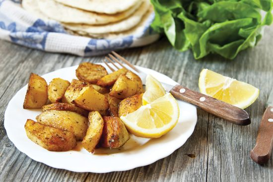 Garlic-Roasted Potatoes Recipe - Food and Entertaining - Capper's Farmer