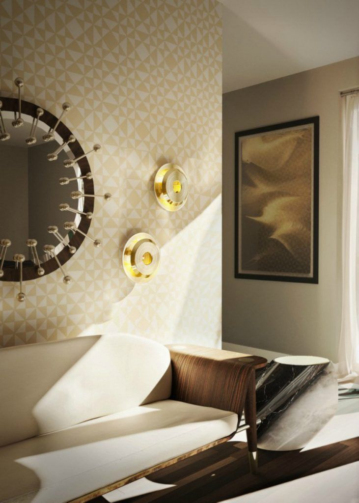 10 Fabulous Wallpapers That Will Spruce Up Your Living Room Set | Mid Century Modern Sofas. Velvet Sofa. #modernsofas #velvetsofa #livingroomdesign Read more: http://modernsofas.eu/2016/08/09/fabulous-wallpapers-spruce-living-room-set/