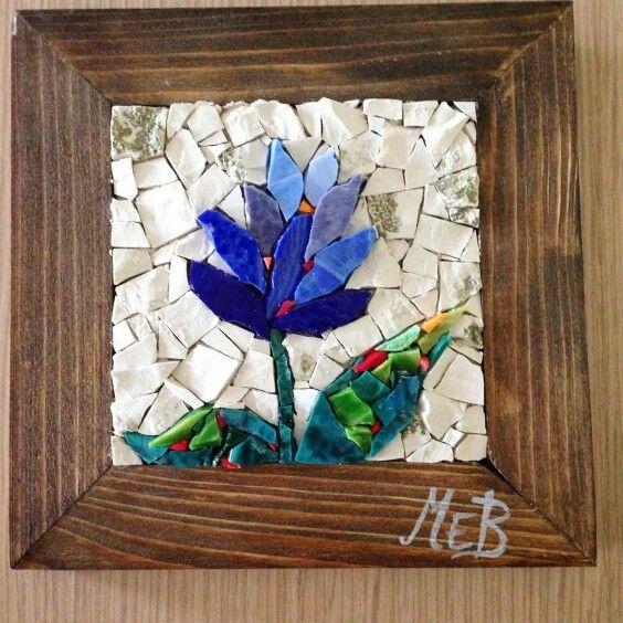 Handmade mosaic my wedding favor
