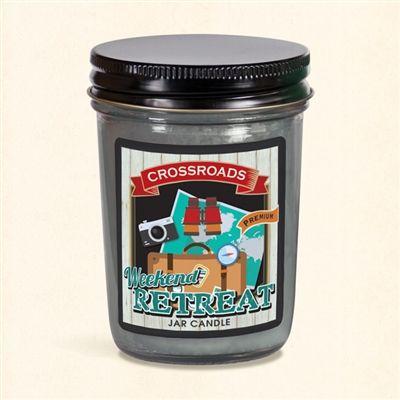 Weekend Retreat - Half Pint Mason Jar