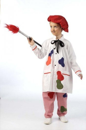 Disfraz de pintor (2) 3 a 5 años