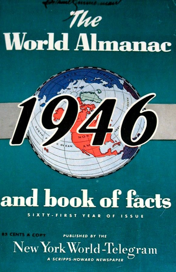 world almanac and book of facts  free