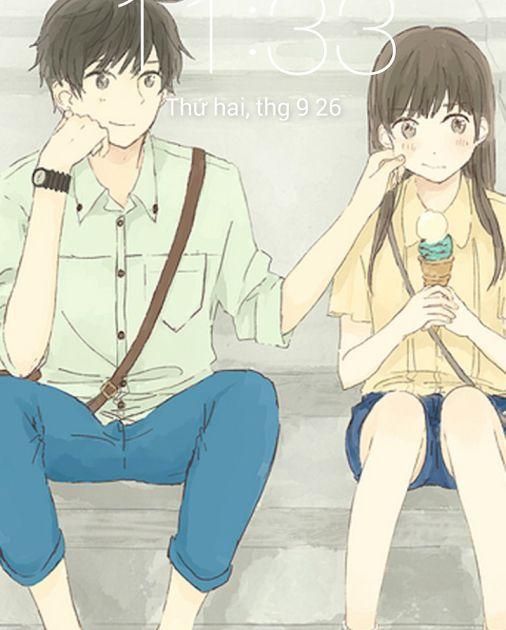 Wallpaper Hp Anime Couple- Anime Couple Cute Wallpapers 1 ...