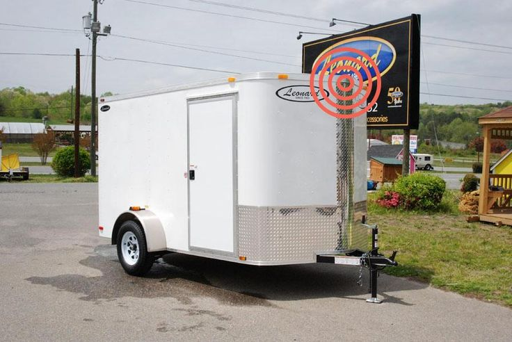 Enclosed Trailer Options | Leonard Buildings & Truck Accessories