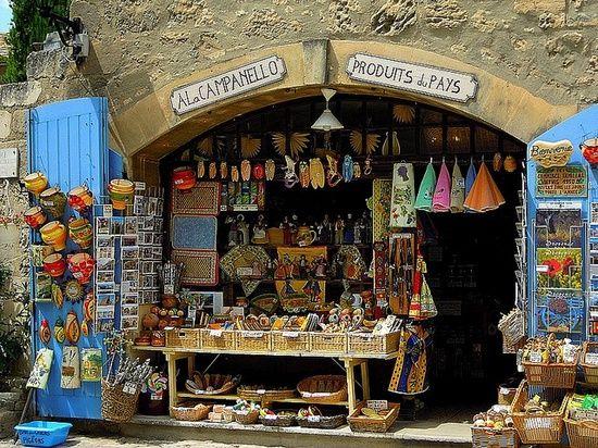 Laden in der Provence