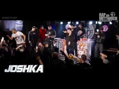 JoshKa   Live bei RAP AM MITTWOCH Berlin 02 12 2015 Cypher  DividedHD