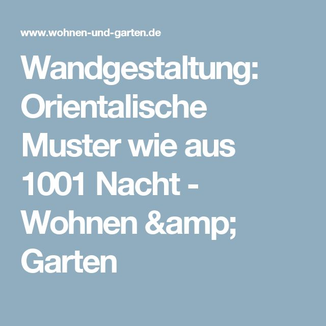 25 best ideas about orientalische muster on pinterest - Orientalische wandgestaltung ...