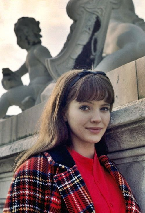 Anna Karina 1965 reminds me of me in college in the 80s