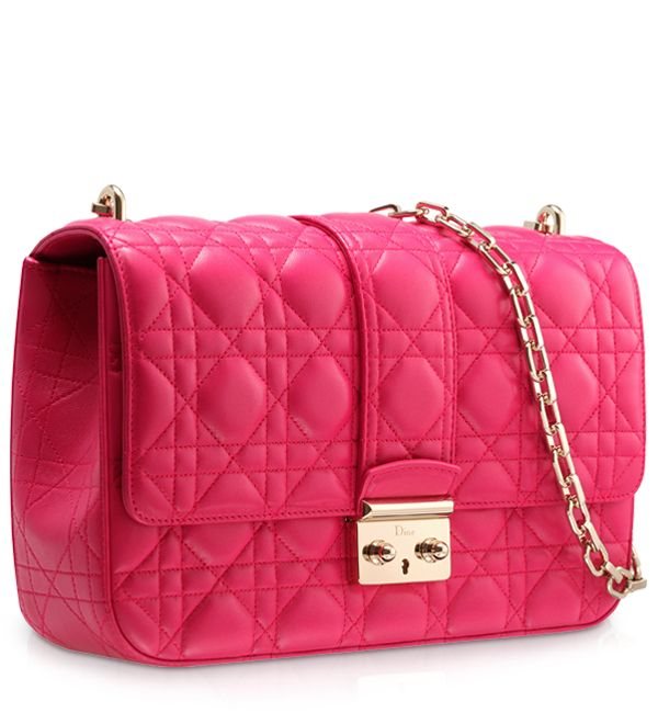 Dior Fuchsia Miss Dior Bag