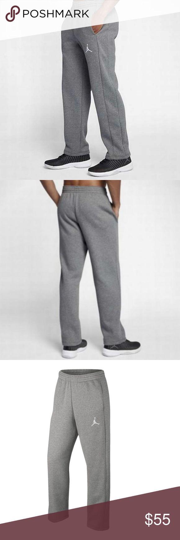 Jordan Jumpman Flight Men's Basketball Pants New With Tags 100% Authentic, Guaranteed!  Jordan Jumpman Flight Men's Basketball Pants   Elastic waistband with drawcord for a snug, comfortable fit.  Side pockets  Men's Size Small  Color: Gray Style 823073-063 Jordan Pants Sweatpants & Joggers