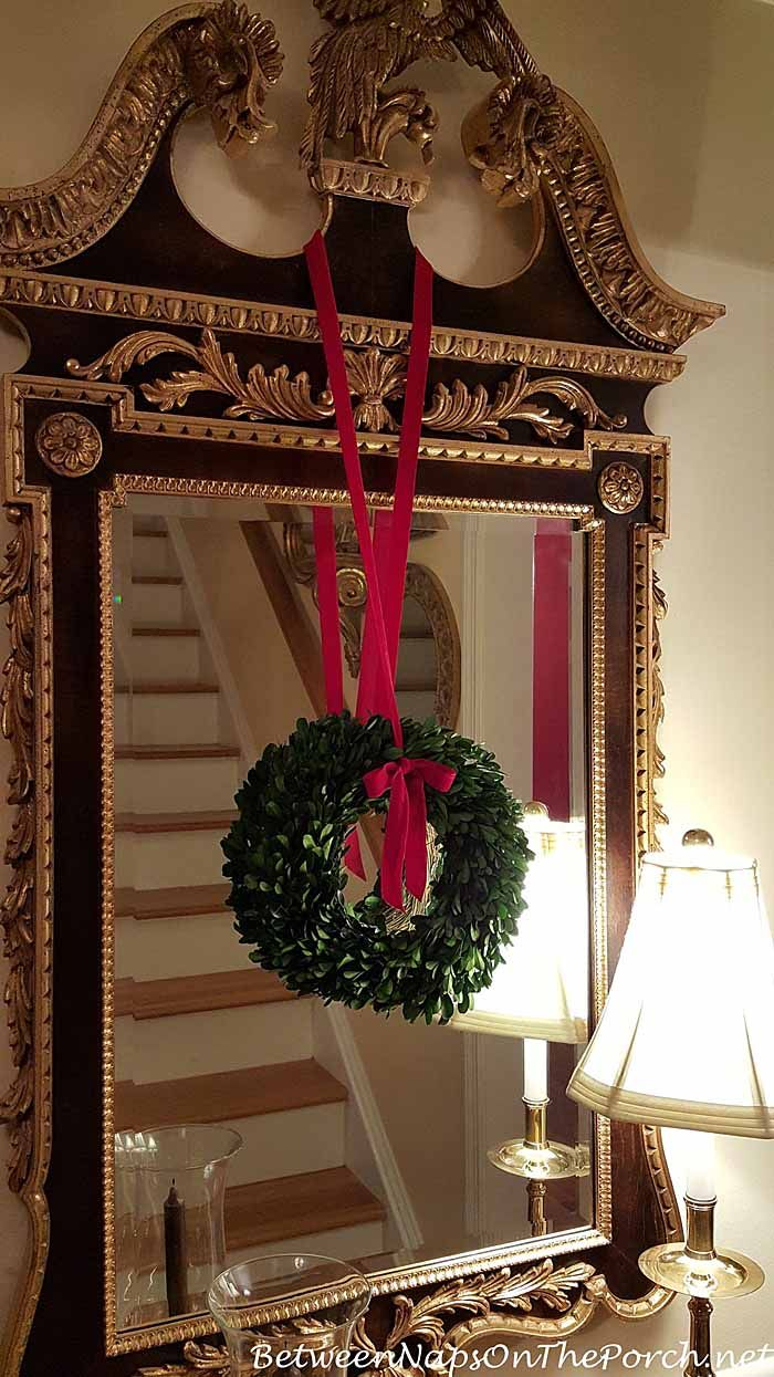 10 gorgeous christmas table decorating ideas 187 photo 2 - Preserved Boxwood Wreaths By Between Naps On The Porch