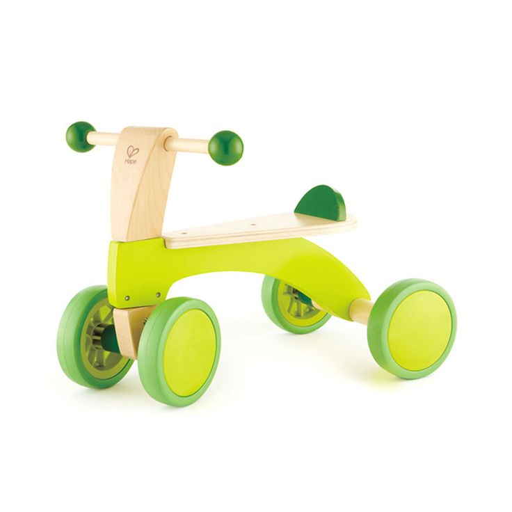 Hape Scoot Around Toddler Children's Wooden Active Ride On Balance Bike Scooter #Hape