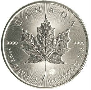 2015 Silver Maple Leaf from Canada - One of the most popular silver bullion coins! | MintProducts.com