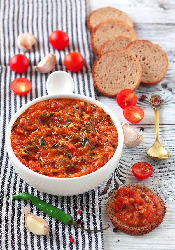 Томатно-чесночный соус(к рыбным блюдам)
