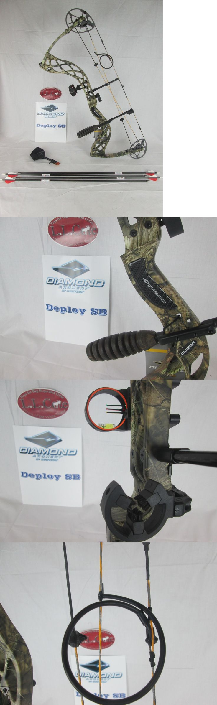 Compound 20838: Diamond Deploy Sb Compound Bow Package Right Hand 60Lbs Camo And Arrows -> BUY IT NOW ONLY: $599.98 on eBay!