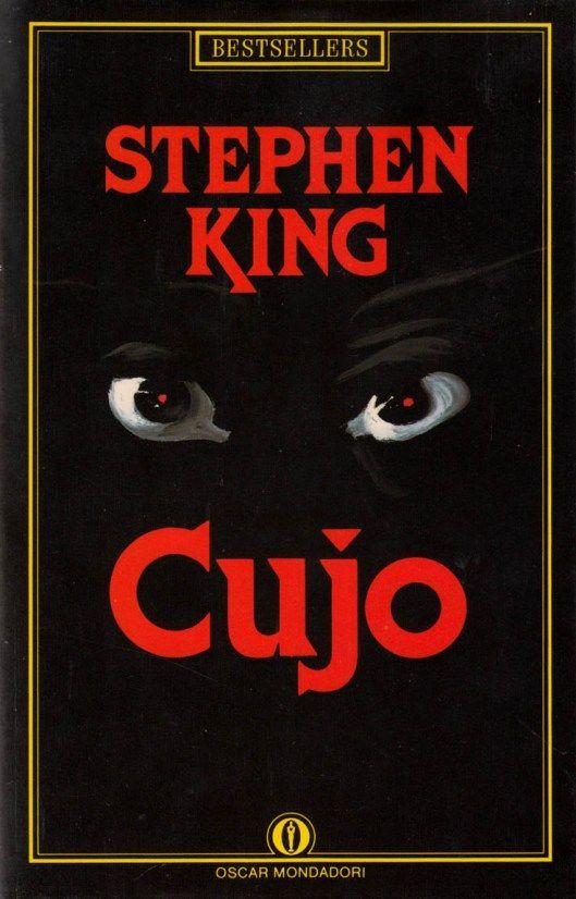 "Illustrazione di Ferenc Pintér per ""Cujo"" di Stephen King, Bestsellers Mondadori 1989. #Mondadori #FerencPinter #StephenKing"