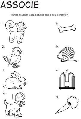 Atividades Para O Dia Dos Animais 4 De Outubro Mundinho Da Criança
