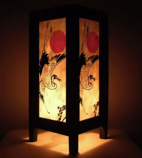 Thai Vintage Handmade Asian Oriental Japanese sunset by LannaStyle