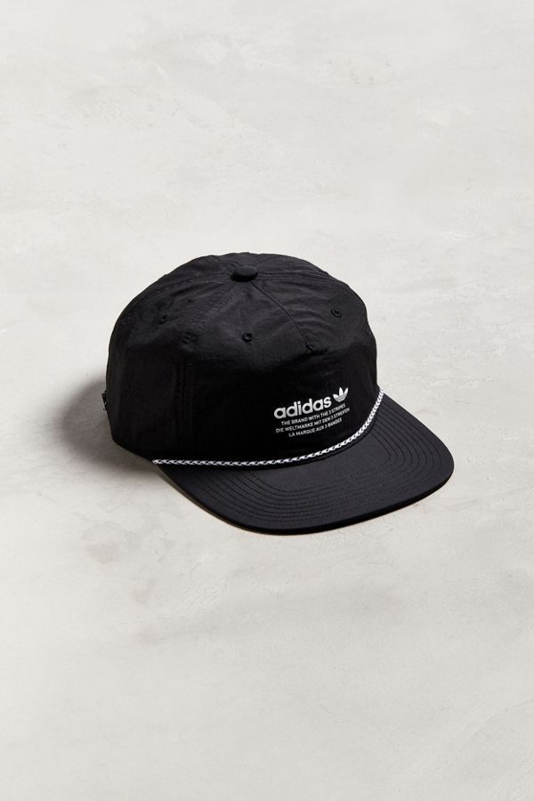 78b1e32501d92 Slide View  1  adidas Originals Relaxed Decon Rope Strapback Hat