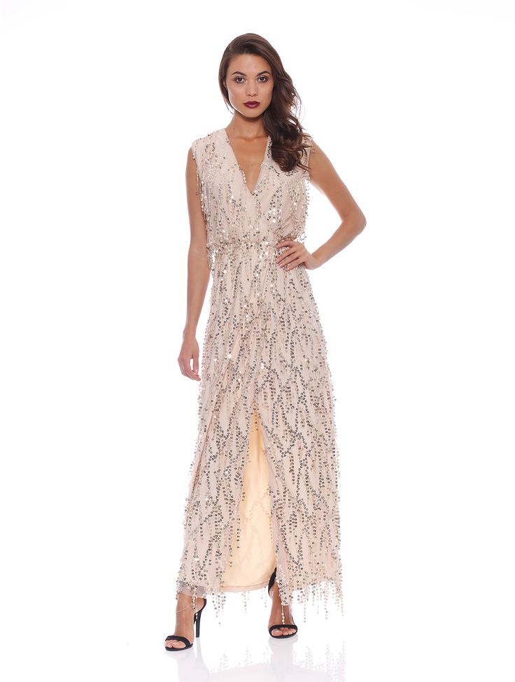 Romance The Label - Zoe Sequin Maxi