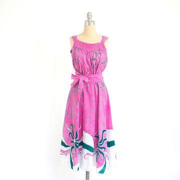 Pink Festival Dress.