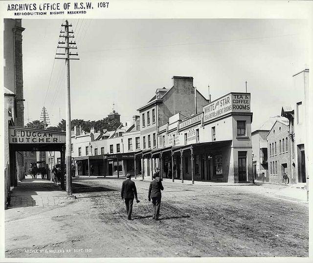 Argyle Street & Miller's Road, The Rocks