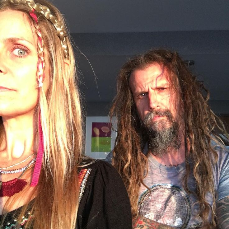 Sheri Moon Zombie and hubby