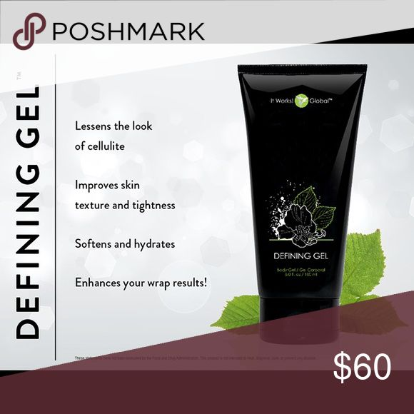 It Works Defining Gel 💚It Works Defining Gel 💚lessens the look of cellulite, improves skin texture and tightness, softens and hydrates, and enhances your wrap results!💚 Part of a healthy life style!! Visit me at http://adelance13.myitworks.com to get your whole healthy lifestyle system started today💚It Works-Works 👌🏻 It Works Other